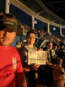 Mike attended The Dude Perfect 2021 Tour on Sep 23rd 2021 via VetTix