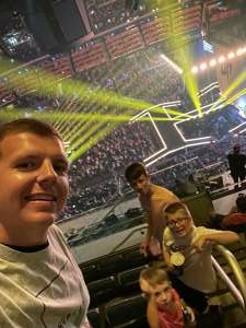 A Barnard attended The Dude Perfect 2021 Tour on Sep 23rd 2021 via VetTix