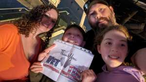 CLTeegarden attended The Dude Perfect 2021 Tour on Sep 23rd 2021 via VetTix