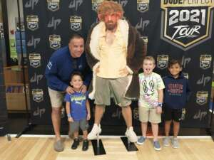 Scott attended The Dude Perfect 2021 Tour on Sep 23rd 2021 via VetTix
