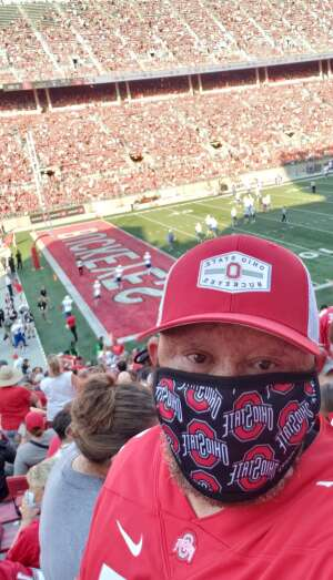 Dee attended Ohio State Buckeyes vs. Tulsa Golden Hurricane - NCAA Football on Sep 18th 2021 via VetTix