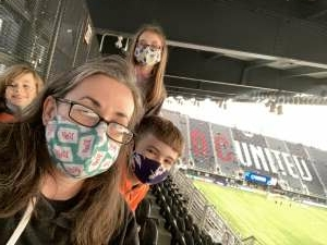 Beth attended DC United vs. FC Cincinnati - MLS on Sep 25th 2021 via VetTix
