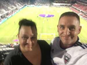 S Fortune attended DC United vs. FC Cincinnati - MLS on Sep 25th 2021 via VetTix