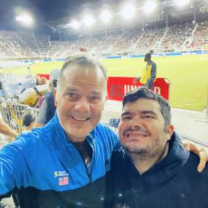 Chief Rey attended DC United vs. FC Cincinnati - MLS on Sep 25th 2021 via VetTix