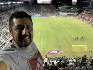 David attended DC United vs. FC Cincinnati - MLS on Sep 25th 2021 via VetTix