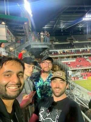 Jack attended DC United vs. FC Cincinnati - MLS on Sep 25th 2021 via VetTix