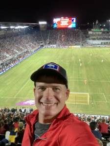 Toby attended DC United vs. FC Cincinnati - MLS on Sep 25th 2021 via VetTix