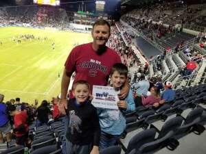NUTZ attended DC United vs. FC Cincinnati - MLS on Sep 25th 2021 via VetTix