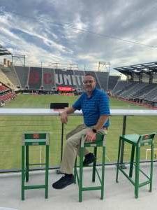 Paul Merritt attended DC United vs. FC Cincinnati - MLS on Sep 25th 2021 via VetTix