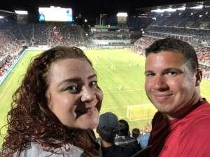 Chris H.  attended DC United vs. FC Cincinnati - MLS on Sep 25th 2021 via VetTix