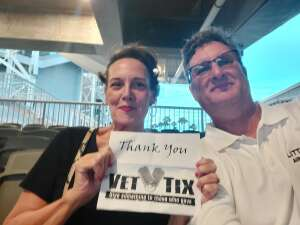 RLB attended Santana - Blessings and Miracles Tour on Sep 21st 2021 via VetTix