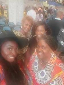 Colette attended Erykah Badu on Sep 22nd 2021 via VetTix