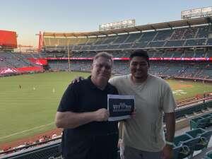 Ron attended Los Angeles Angels vs. Houston Astros - MLB on Sep 21st 2021 via VetTix