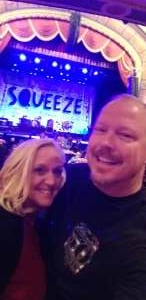 Floyd O attended Squeeze: The Nomadband Tour - 8:00PM on Sep 23rd 2021 via VetTix
