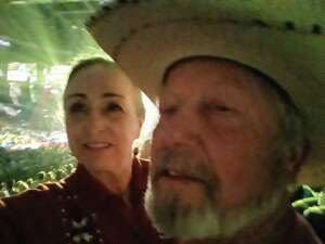 Shelleyand Thom attended Blake Shelton: Friends and Heroes 2021 on Sep 23rd 2021 via VetTix