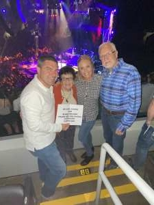 Rusty attended Blake Shelton: Friends and Heroes 2021 on Sep 23rd 2021 via VetTix