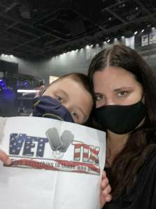 Diana attended Blake Shelton: Friends and Heroes 2021 on Sep 23rd 2021 via VetTix