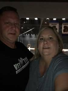 Thomas Beck attended Blake Shelton: Friends and Heroes 2021 on Sep 23rd 2021 via VetTix