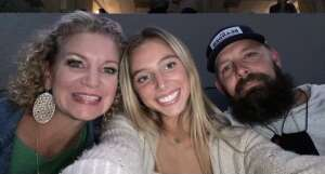 Heather Vickery attended Blake Shelton: Friends and Heroes 2021 on Sep 23rd 2021 via VetTix