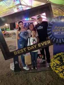 Click To Read More Feedback from Arizona State Fair - Armed Forces Day