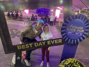 Mike  attended Arizona State Fair - Armed Forces Day on Oct 15th 2021 via VetTix