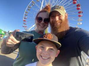Camerman attended Arizona State Fair - Armed Forces Day on Oct 15th 2021 via VetTix