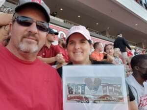 Mark attended NC State Wolfpack vs. Clemson Tigers - NCAA Football on Sep 25th 2021 via VetTix