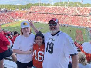 Kenny Britt attended NC State Wolfpack vs. Clemson Tigers - NCAA Football on Sep 25th 2021 via VetTix