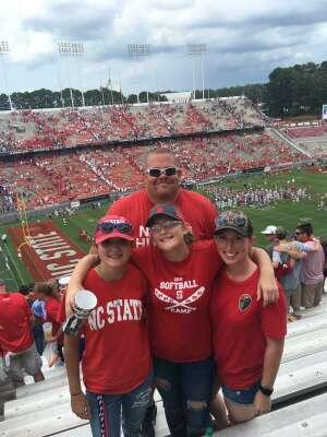 MattyG attended NC State Wolfpack vs. Clemson Tigers - NCAA Football on Sep 25th 2021 via VetTix
