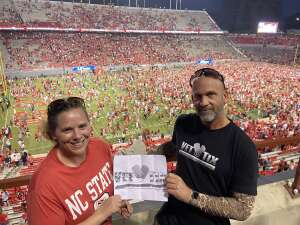 Click To Read More Feedback from NC State Wolfpack vs. Clemson Tigers - NCAA Football