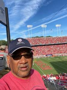 Bobby Williams attended NC State Wolfpack vs. Clemson Tigers - NCAA Football on Sep 25th 2021 via VetTix