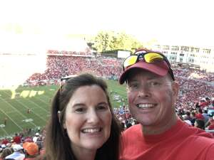 Chris M attended NC State Wolfpack vs. Clemson Tigers - NCAA Football on Sep 25th 2021 via VetTix