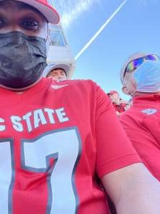 Sal  attended NC State Wolfpack vs. Clemson Tigers - NCAA Football on Sep 25th 2021 via VetTix