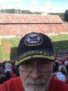Danny attended NC State Wolfpack vs. Clemson Tigers - NCAA Football on Sep 25th 2021 via VetTix