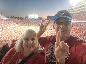 Msgt Jenkins attended NC State Wolfpack vs. Clemson Tigers - NCAA Football on Sep 25th 2021 via VetTix