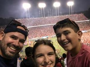 B attended NC State Wolfpack vs. Clemson Tigers - NCAA Football on Sep 25th 2021 via VetTix