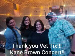 Eric Goody attended Kane Brown: Worldwide Beautiful Tour on Sep 23rd 2021 via VetTix