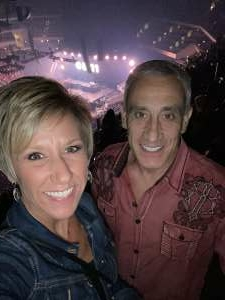 Kimberley and Pete attended Dan + Shay the (arena) Tour on Sep 23rd 2021 via VetTix