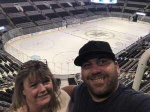 Jesn attended San Jose Sharks vs. Vegas Golden Knights - NHL Preseason on Oct 9th 2021 via VetTix