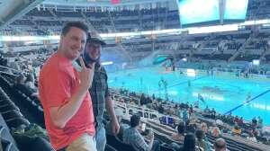 Crush attended San Jose Sharks vs. Vegas Golden Knights - NHL Preseason on Oct 9th 2021 via VetTix