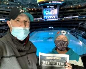 Pete Velez attended San Jose Sharks vs. Vegas Golden Knights - NHL Preseason on Oct 9th 2021 via VetTix