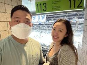 Andrew attended San Jose Sharks vs. Vegas Golden Knights - NHL Preseason on Oct 9th 2021 via VetTix