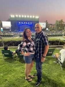 Mike attended Jason Aldean: Back in the Saddle Tour 2021 on Sep 23rd 2021 via VetTix