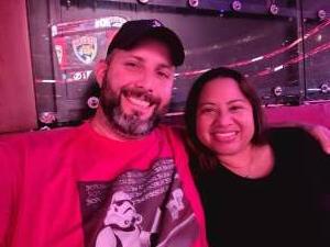 IronPilgrim attended Florida Panthers vs. Tampa Bay Lightning - NHL Preseason on Oct 9th 2021 via VetTix
