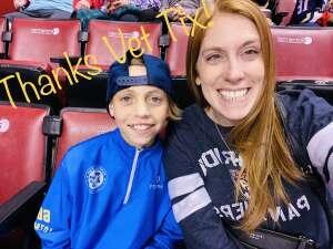 Jamie White attended Florida Panthers vs. Tampa Bay Lightning - NHL Preseason on Oct 9th 2021 via VetTix