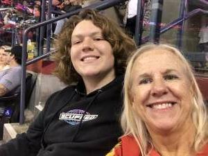 Celeste attended Florida Panthers vs. Tampa Bay Lightning - NHL Preseason on Oct 9th 2021 via VetTix