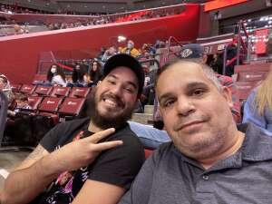 Mike M attended Florida Panthers vs. Tampa Bay Lightning - NHL Preseason on Oct 9th 2021 via VetTix