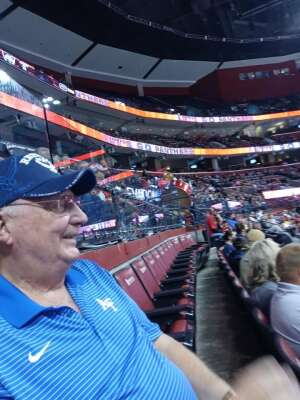Kaarlo attended Florida Panthers vs. Tampa Bay Lightning - NHL Preseason on Oct 9th 2021 via VetTix