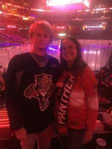 Jenn Kimmey attended Florida Panthers vs. Tampa Bay Lightning - NHL Preseason on Oct 9th 2021 via VetTix