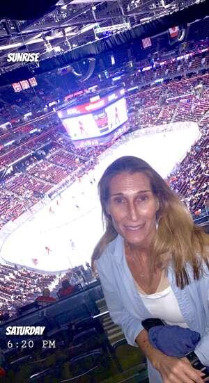 Jimmy attended Florida Panthers vs. Tampa Bay Lightning - NHL Preseason on Oct 9th 2021 via VetTix